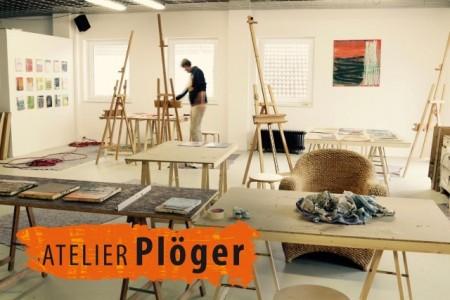 """Der angesagte Wochenendkurs """"Neujahrsmalen - Zeit für mich"""" Foto: Atelier Plöger"""