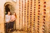 Im Kreismuseum Wewelsburg kann der von KZ-Häftlingen errichtete Weinkeller besichtigt werden. (Foto: Lina Loos für das Kreismuseum Wewelsburg)