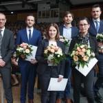 Preise für herausragende Leistungen beim Neujahrsempfang der Universität Paderborn verliehen