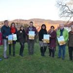 Infomarkt zur Landesgartenschau in Fürstenau am 4. Januar 2020