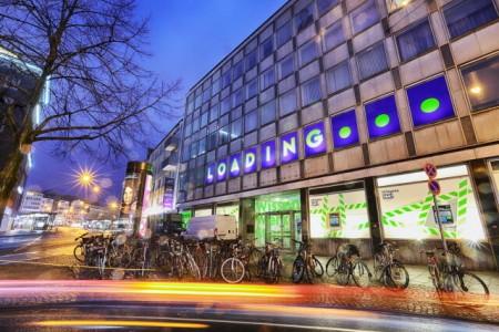 Die WissensWerkStadt Bielefeld befindet sich in der Entwicklungsphase - das leerstehende Gebäude wird schon für Veranstaltungen genutzt.