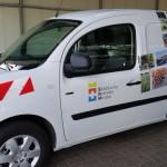 Städtischer Fuhrpark wird elektrifiziert: Förderscheide eingegangen