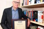 """Foto (Universität Paderborn): Prof. Dr.-Ing. Häb-Umbach wurde zum """"IEEE Fellow"""" ernannt."""
