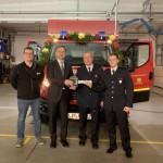 Feierliche Übergabe des neuen Feuerwehrfahrzeugs