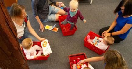 Detmolder Büchermäuse – Die besondere Krabbelgruppe