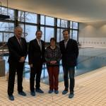 Vertrag  zur  Nutzung  der  Schwimmhalle  der Bundeswehr unterzeichnet