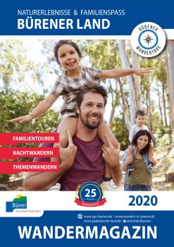 (Wandermagain für 2020, Foto: Büren Stadtmarketing)