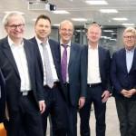 Rund 70 Unternehmer beim Wirtschaftsgespräch im Weidmüller-CTC