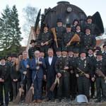 Bevollmächtigte Bezirksschornsteinfeger überbringen Neujahrsgrüße an Landrat Manfred Müller