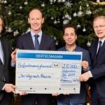 Bertelsmann spendet 25.000 Euro für schwerstkranke Kinder