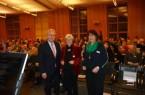 Beim Frauenauftakt: von links.: Landrat Jürgen Müller, Dr. Barbara Stiegler (Gastreferentin) und Simona Langenberg (Gleichstellungsbeauftragte Kreis Herford)