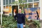Siegfried Westphal, Fotograf und Musiker stellt seine Naturfotos im Kreishaus aus. Foto: Kreis Herford