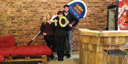 Jennifer Fröhlich, Iwona Lokaj und Peter Kamische-Funk suchen neue  Veranstalter zum 40. Ferien(s)pass Höxter/Boffzen, Foto: Kreis Höxter