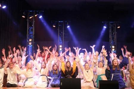 Foto (Christlicher Schulverein Lippe e.V.): 120 Schüler*innen beteiligten sich