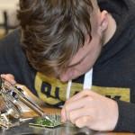 Schulen können Workshop zu Elektronik buchen