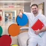 Krankenpfleger wirbt für Region und Beruf