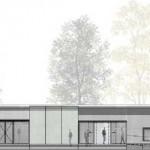 Neuer Eingangsbereich für das Industriemuseum Glashütte Gernheim