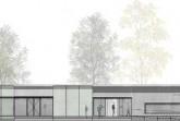 So sieht das neue Eingangsgebäude aus