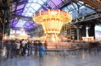 Historischer Jahrmarkt in der Jahrhunderthalle Bochum.Foto: © Bochumer Veranstaltungs-GmbH
