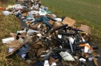 Illegale Müllentsorgung in Barntrup, Foto: Stadt Barntrup