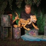 Es wird tigerwild in der Weberei Kindertheater und Brunch im Bürgerkiez