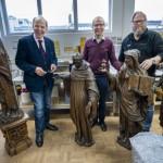 Erste Skulpturen für große Rubens-Ausstellung in Paderborn eingetroffen