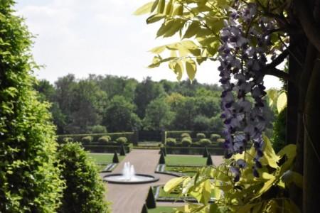Blick in den Barockgarten vom Kloster Kamp, Foto: © Imma Schmidt