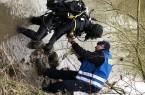 Feuerwehrtaucher im Einsatz, Foto: Kreis Herford