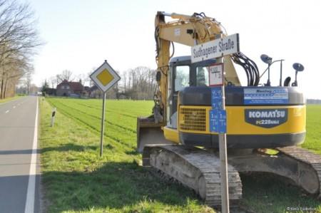 Foto: Kreisstraßenbauamt Paderborn Die Bauarbeiten entlang der K8 starten morgen