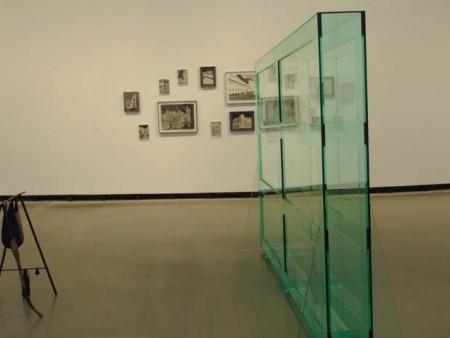 Glas und Beton Ausstellung