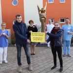 100 Engel für das St. Vincenz Hospital