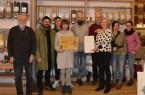 Foto (BUND Lemgo): Dennis Hammer (Bildmitte) war erfreut über den Besuch von Mitgliedern des BUND Lemgo