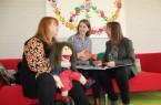Bettina Papenmeier, Kerstin Grimmek und Kerstin Plischka (v.l.) wollen gemeinsam Strategien entwickeln und eine Fachberatung für Kinder- und Jugendschutz vor Ort etablieren. Foto: Kreis Lippe