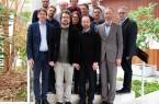 Foto (SICP/K. Sellerberg): v. l. Prof. Dr. Carsten Schulte, Adrian Lund, Florian Müller (alle Universität Paderborn), Dr. Harald Selke (coactum GmbH), Dr. Simon Oberthür (Universität Paderborn, SICP), Bernd Jeuschede, Claudia Kirschtein, Prof. Dr. Dorothee Meister (alle Universität Paderborn), Falk Witzel (DLR), Dominik Niehus (coactum GmbH), Michael Kemkes (InnoZent OWL), Frank Nichte (BMWI), Uwe Lück (IHK Ostwestfalen zu Bielefeld). Download (2 MB) Foto: Uni Paderborn