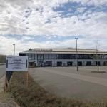 Ambulantes Behandlungszentrum für Corona-Patienten im Ahorn-Sportpark
