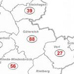 432 laborbestätigte Coronainfektionen in Kreis Gütersloh (Stand 02.04.2020)