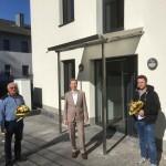 Schlüsselübergabe vom Neubau des Amtes proArbeit Porta Westfalica