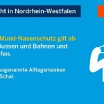 Nordrhein-Westfalen führt Maskenpflicht ein