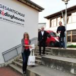 Rödinghausen versorgt Schulen mit 1.250 Mund-Nasen-Schutz-Masken