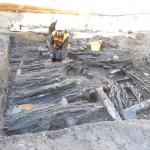 Mittelalterliche Hauswand in Minden entdeckt