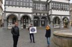 Die Organisatoren des Paderborner Kultursoli (v. l.): Markus Runte, Olaf Menne und Julia Ures.Foto: © Stadt Paderborn