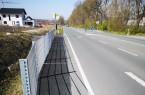 Seit Anfang April ist die zulässige Höchstgeschwindigekit auf der Driburger Straße auf zwei Abschnitten nahe des Baugebietes Springbach Höfe auf Tempo 50 und Tempo 30 reduziert worden, die Stadt Paderborn bittet um Beachtung. Foto: © Stadt Paderborn