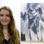 KulturFaktor live am 30.4.: Kunst in Acryl mit Franziska Jäger