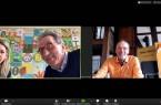 Eingeladen zur Online-Konferenz hatten (von rechts) Ralf R. Strupat (Agentur Kunden.Begeisterung), Frank Hofen (Förderverein Stadt HalleWestfalen) und Jennifer Zacher-Handke… © Förderverein