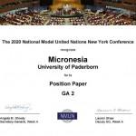 14. PaderMUN-Delegation erhält Auszeichnung