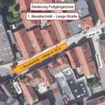 Sanierung der Fußgängerzone beginnt am heutigen Dienstag