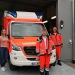 Umzug in die Container der Rettungswache Clarholz
