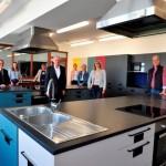 Neue Lehrküche in der Rödinghauser Gesamtschule fertig