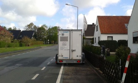 falschgeparktes Fahrzeug (Foto: Stadt Minden)