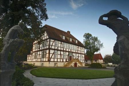 Mallinckrodthof in Borchen bzw. Nordborchen. Foto: Touristikzentrale Paderborner Land e. V.